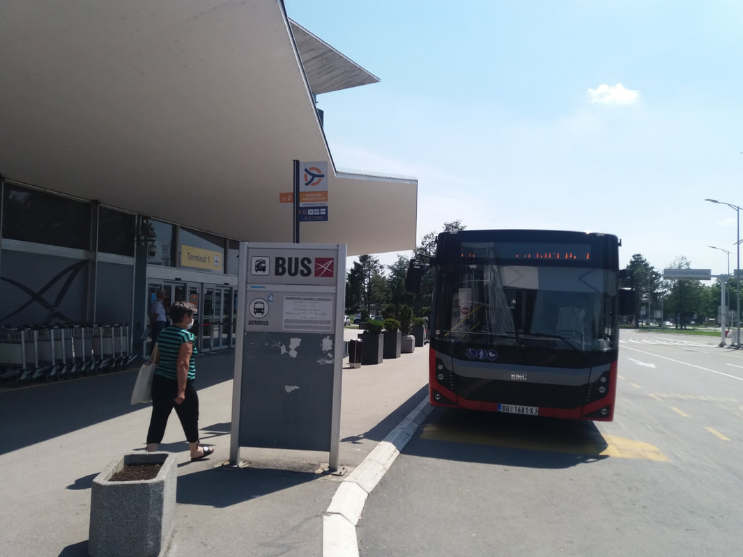 Bus 72 Beograd airport
