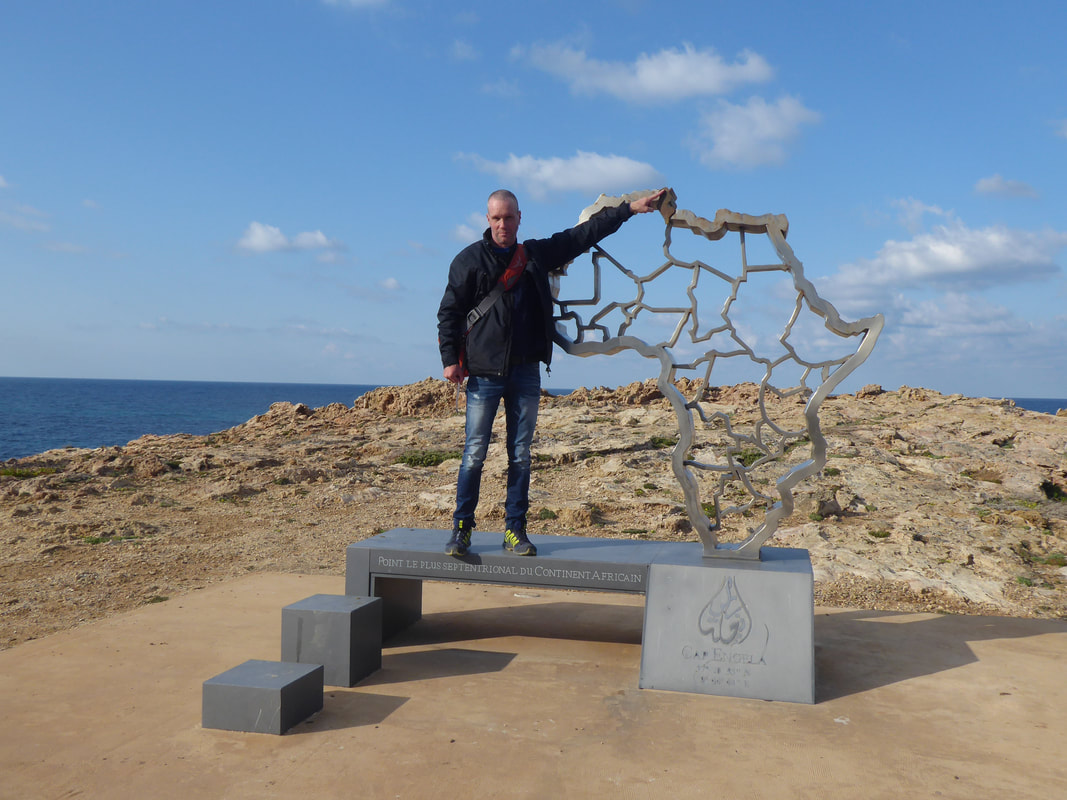 Ras En Jela Cape Angela Northern most point of Africa