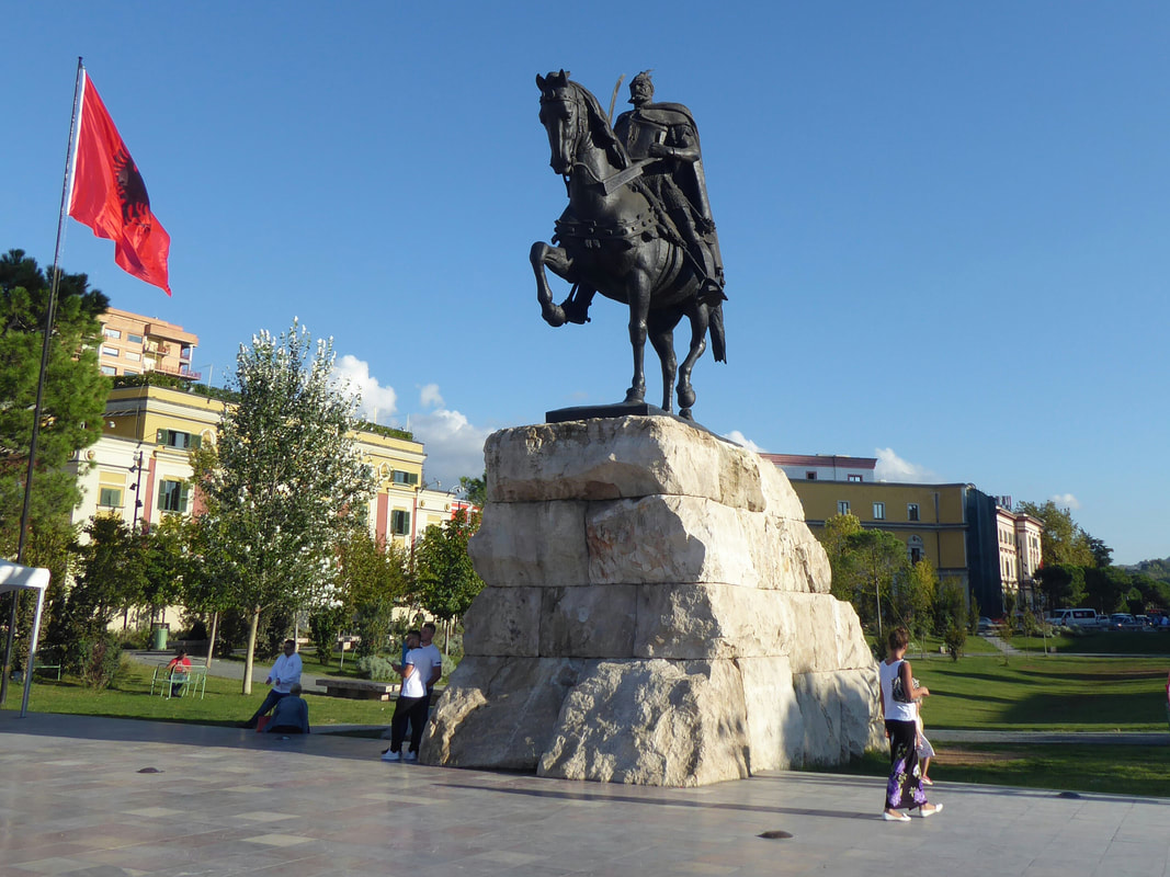 Skanderneg Albania's national hero