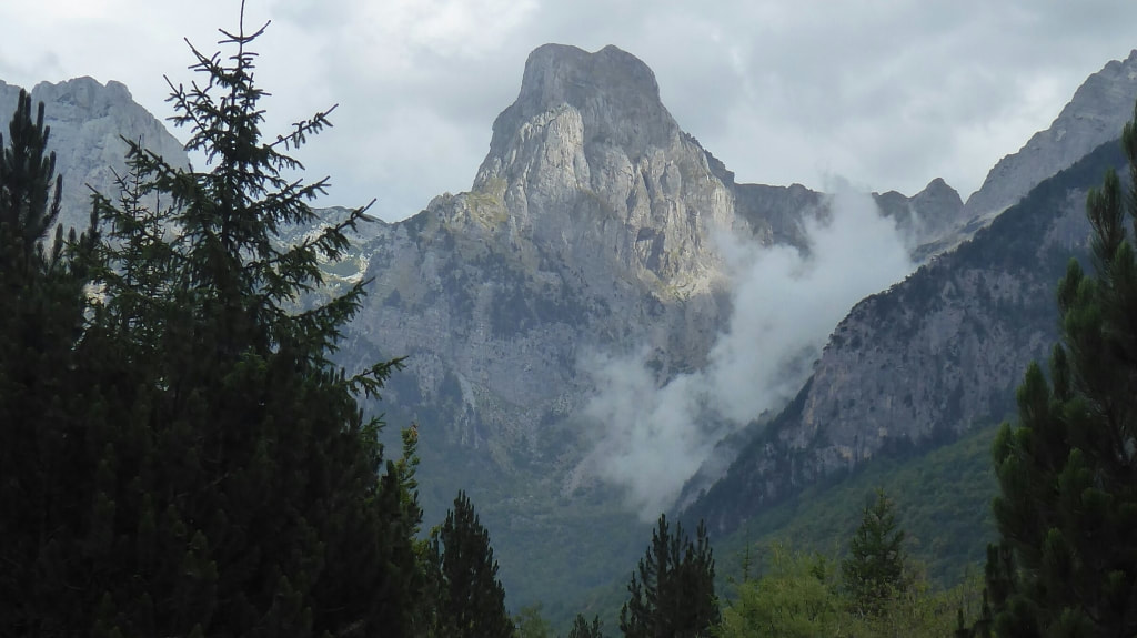 Theth to Valbona Hike Albania Nomadic Backpacker