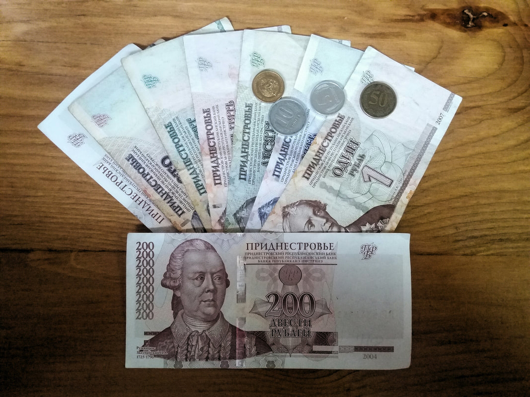 Transnistrian money