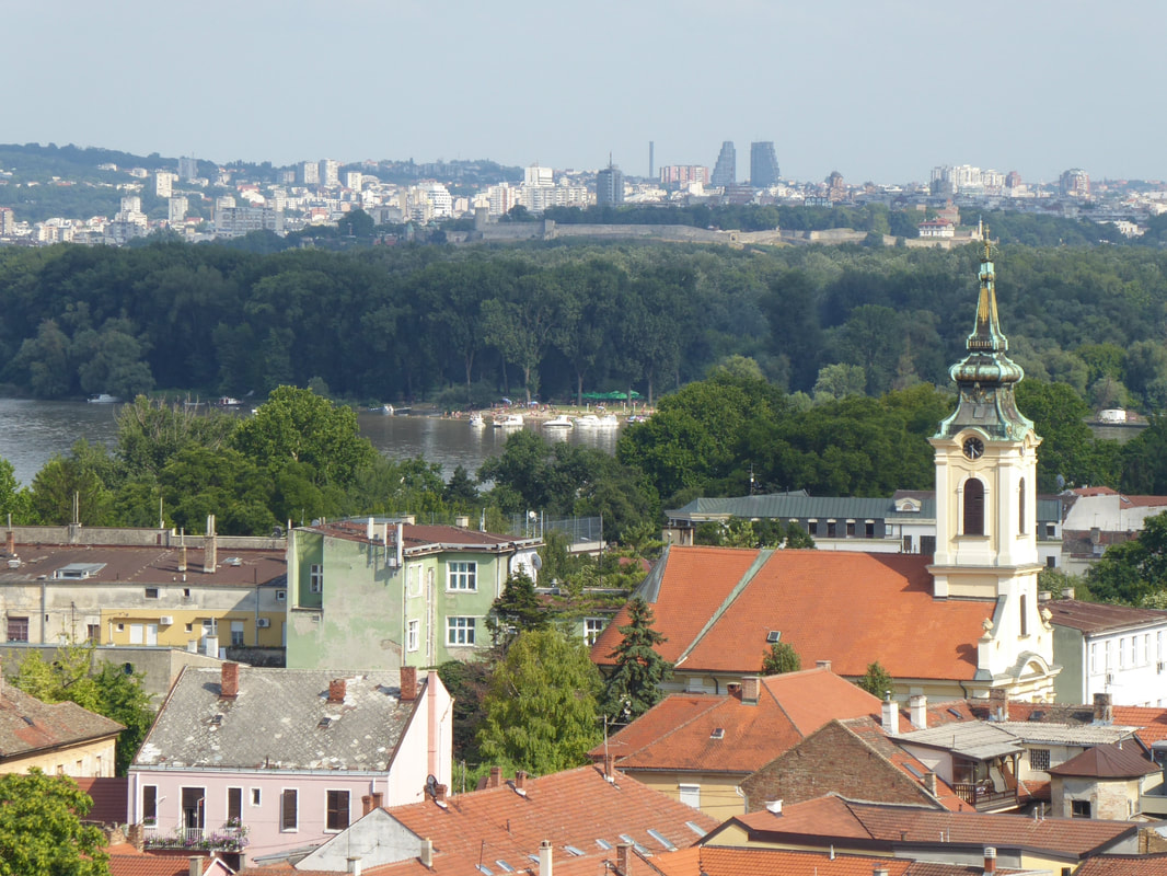 Backpacking in Beograd